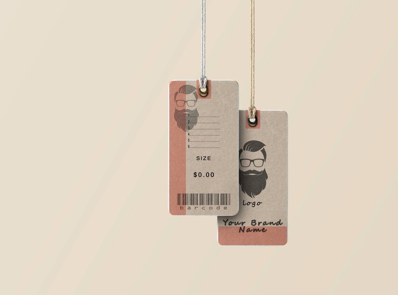 Clothing Tag labeldesign hangtag clothingtags hangtags clothing label brand design brand identity branding design illustration design