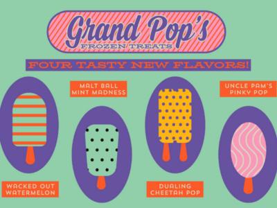 Grand Pop's Frozen Treats for Dribbbs