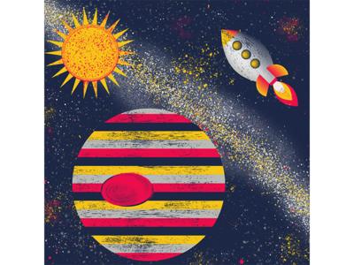 Color Palette For Dribbbs 6 palette color supernova stars jupiter galaxy planet sun rocket space