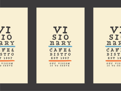 visionary eye chart