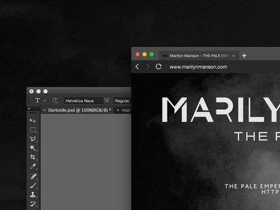 This Theme Will Rock'n Roll With Your Creative Suit browser skin qq qqbrowser dark theme