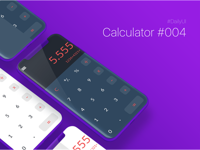 100 day UI Challenge   Calculator