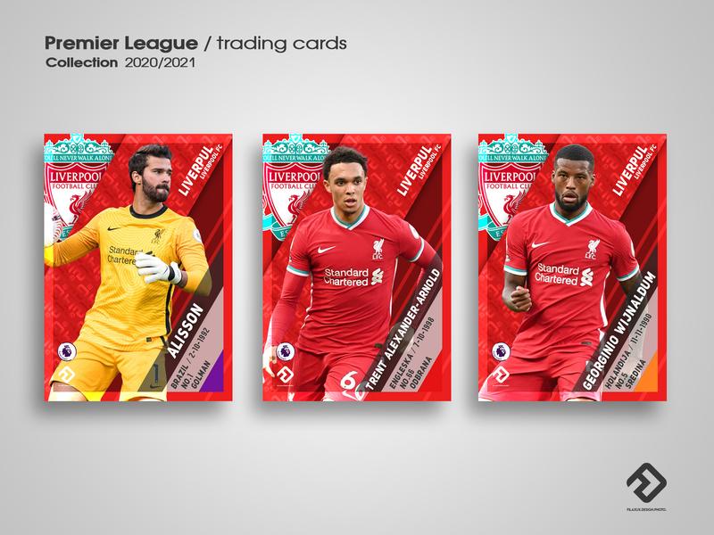 Sport - trading cards design sports design cards design trading card liverpoolfc premierleague
