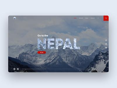 Nepal travel freelance figma design web ux ui design web ui ux freelance