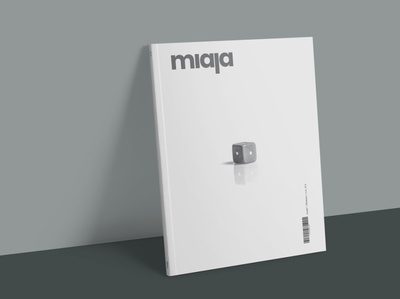 Miaja - Editorial Design typography startup magazine design editorial design indesign