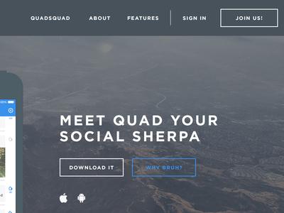 Quad responsive website.