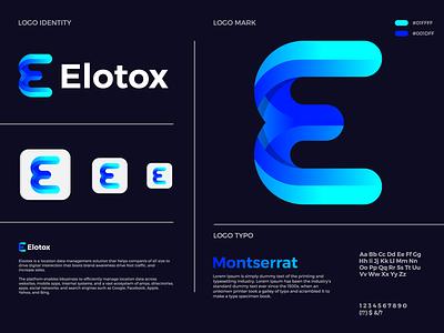 Elotox Logo logodesign logo designer e letter logo e logo icon symbol branding app icon abstract logo logo mark logo design creative logo modern logo brand identity