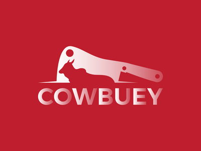 COWBUEY Logo Modern Design design logo illustration logo design logo mark creative logo app icon modern logo branding brand identity