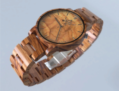Design photo real 3d models of our wooden wristwatches // WINNER 3d