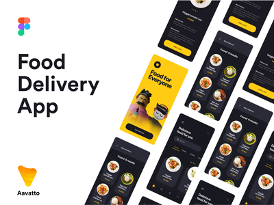 Food Delivery App Designs character ux 3d illustration clean ui minimal design branding app