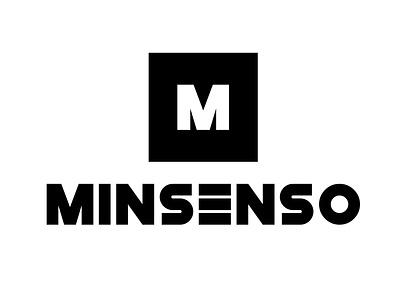 Minsenso logo m letter logo professional logo solid logo minimal logo modern logo minsenso minsenso logo vector design graphic design branding logo