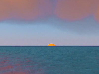 Ocean // Paris Else water else paris sun 3d animation animation 3d c4dart c4d 3d art art