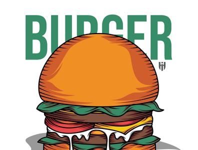 Burger Illustration vector design illustration