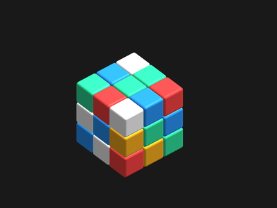 3D rubix cube