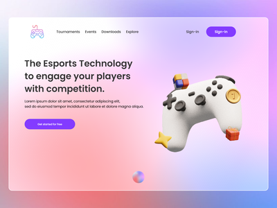 gaming design concept