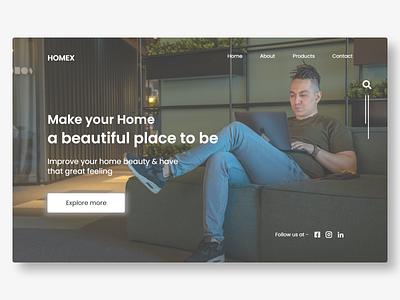 furniture ecommerce design concept   2