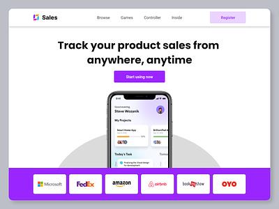 app launch design concept