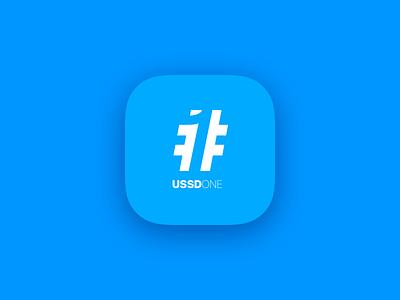 Ussd One Logo ios app icon branding logo