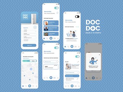 Doc Doc Medical App UI uiux design doctor appointment doctor app ux ui app medicine doctor