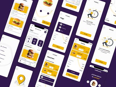 Delivery UI delivery restaurant app ux uiux uikit ui food app restaurant