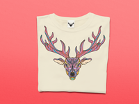Wild Free Deer