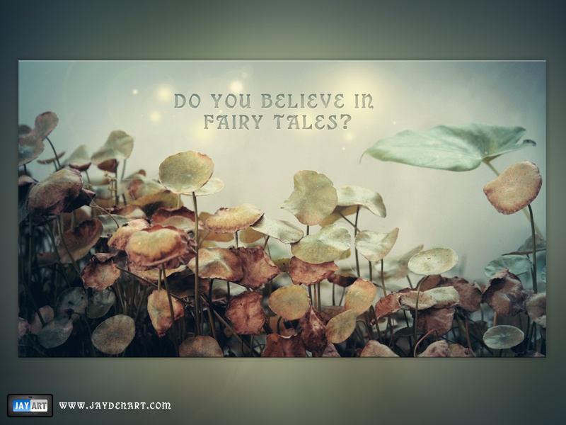 Do You Believe In Fairy Tales? believe fairy fairies tales tale story magic leaf life bright glow