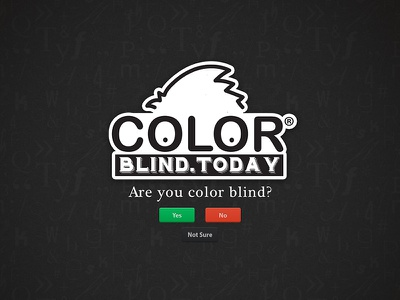 ColorBlind.Today blind website site dark black jaydenart color blind today today colorblind.today colorblind color blind