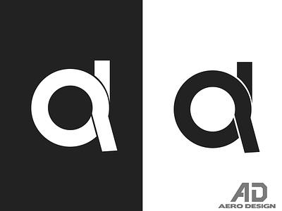 Monograma a + d icon illustrator graphic design art vector typography logo illustration design branding