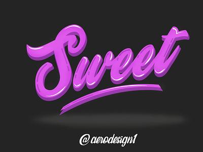 Sweet icon illustrator graphic design art vector typography logo illustration design branding