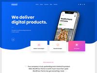 Services Page - Mavel Wordpress Theme