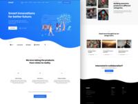 Homepage - Mavel Wordpress Theme