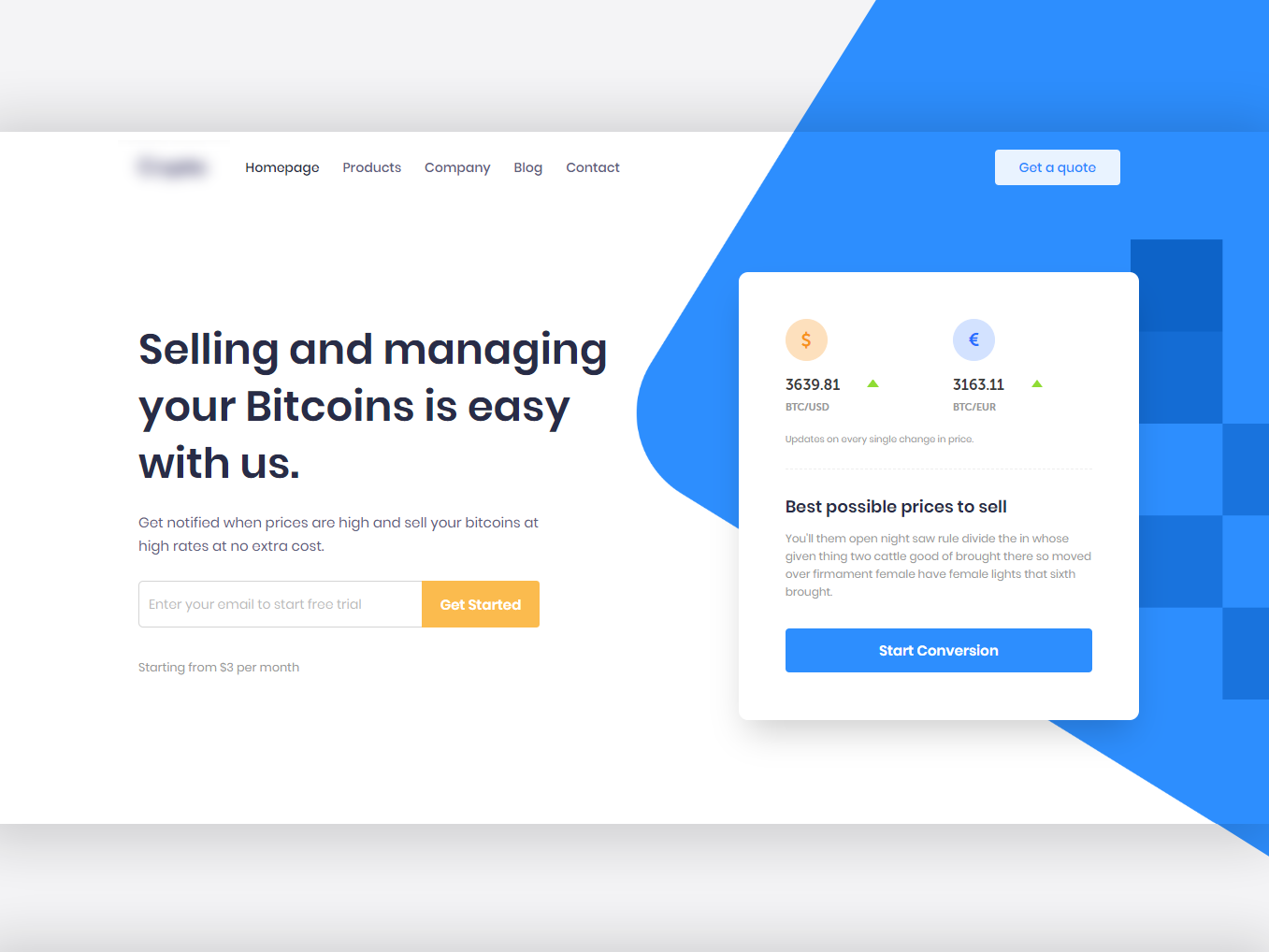 ICO Landing Page Header wordpress crypto ico consulting bitcoin ico landing page
