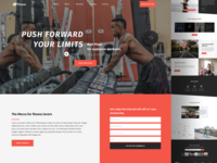 Fitness Landing Page
