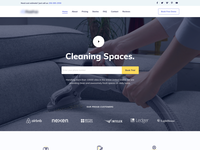 Cleaning Service - Homepage