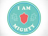 Ten Oaks Project I Am Mighty Sticker