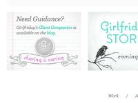 Girlfriday's New Website