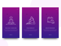 Yoga App Onboarding Experience