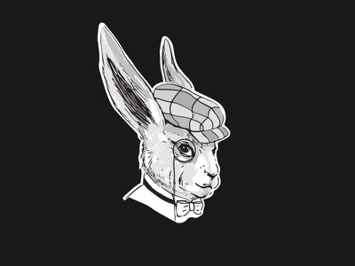 White Rabbit logo rabbit