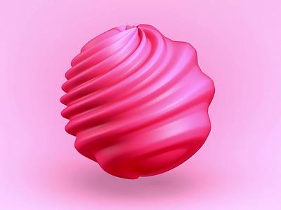 Twisty gum gum twisty graphic design c4d 3d motion graphics logo branding animation nft motion ball