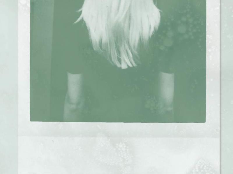 Breathing Room album artwork polaroid music single texture photo green
