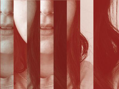 Sneak Peek poster show poster glitch self portrait