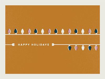Happy Holidays! idk texture lights holiday