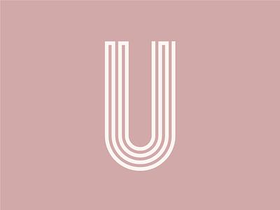 uuuuuuuuuuuuuuuuu letterform dusty pink pink dimension u 26daysoftype type