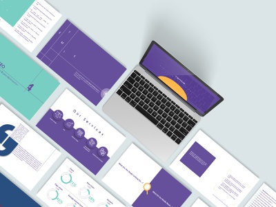 Presentation Design mockup design purple mockup branding infographic presentation layout presentation design presentations presentation illustration digital digital art design