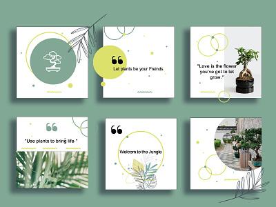 Social Media Layout Design green layout design layout social media design socialmedia mockup design illustration digital brand digital art branding design