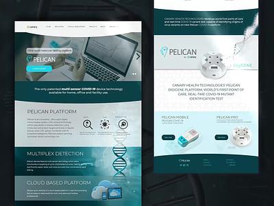 Website Design for Pelican health app healthcare web design websites website design website ux ui identity design mockup design mockup identity branding branding digital art digital design