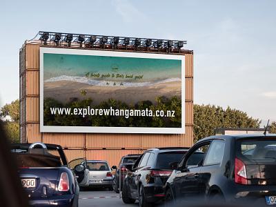 Billboard Design for Explorewhangamata poster design poster newzealand billboard mockup billboards billboard design billboard illustration mockups mockup design mockup identity branding brand branding digital art digital design