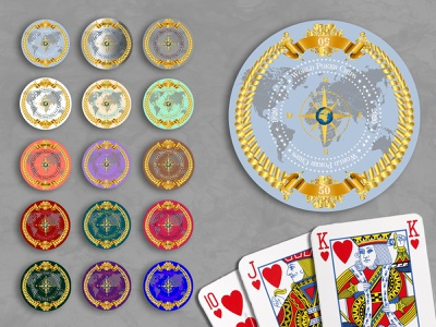 Poker Chip Designs game design game colorful 2d art 2d chip poker chip poker design graphic design illustration branding digital art digital design