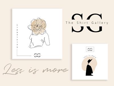 Social Media Design for SG modern minimal clothes menswear social media design social media graphic design illustration brand identity branding branding digital art digital design
