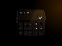 Calculator Skeumorph